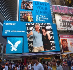 15 Seconds of Fame in Times Square