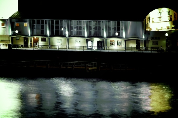 Bournemouth Pier Theatre at Night