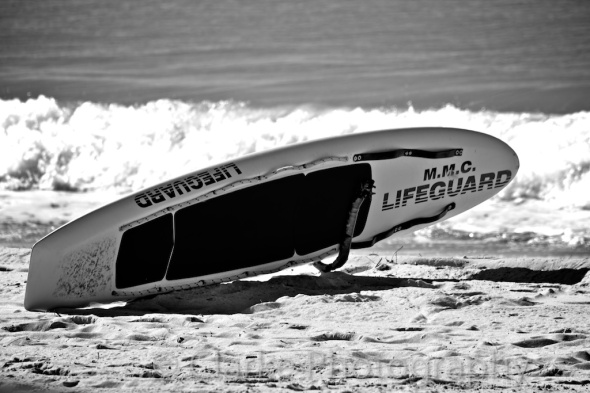 Surf Rescue Board on Manly Beach